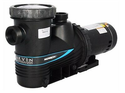$468.96 • Buy Carvin Magnum Force 1 HP In-Ground Single Speed Swimming Pool Pump 94027110