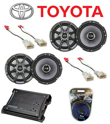 Toyota Tundra 03-07 Kicker Ks65 Replacement Stereo Speakers Zx350.4 Amp System • 359.90$