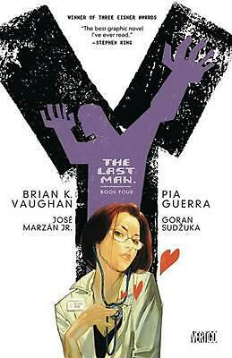 AU42.16 • Buy Y: The Last Man, Book Four By Brian K. Vaughn (English) Paperback Book Free Ship