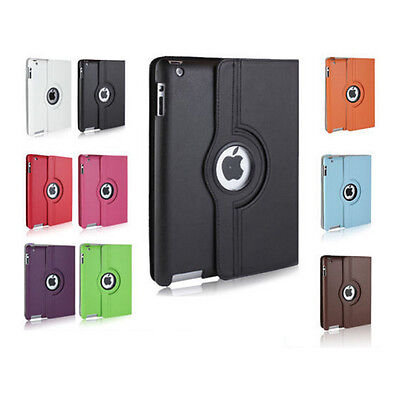 £5.99 • Buy Luxury IPad 2nd 3rd 4th Generation 360 Rotating Leather Stand Case Cover Wallet
