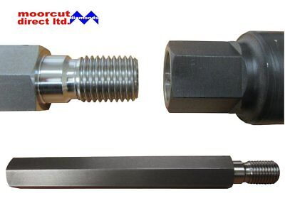 Diamond Core Drilling Wet Extension Bar For Drill Rigs 1 1/4  UNC Fitting • 37.50£
