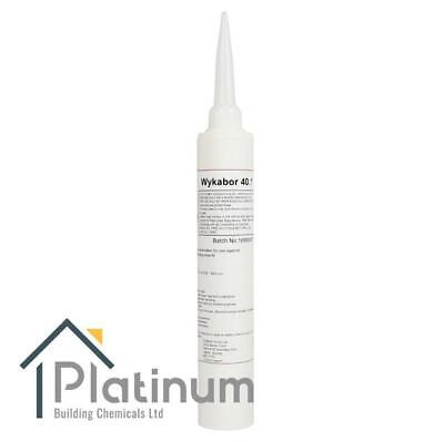 Wykabor 40.1 BORON Injection Paste   Woodworm Killer & Dry Rot Wood Treatment • 16£