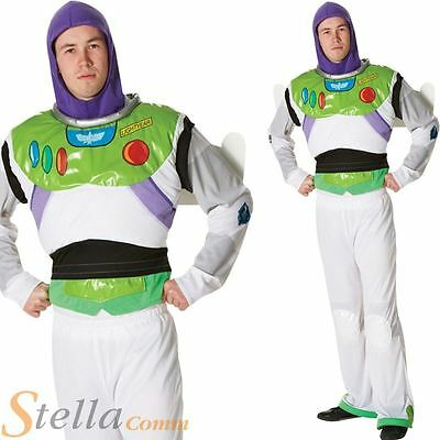 £37.98 • Buy Mens Licensed Buzz Lightyear Toy Story Disney Fancy Dress Costume Adult Outfit