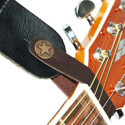 $ CDN19.29 • Buy 10Pcs Genuine Leather Guitar Strap Button Hook For Acoustic Folk Classic Guitar