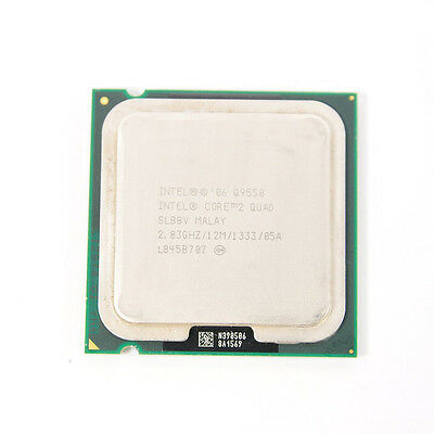 $ CDN41.25 • Buy Intel Core 2 Quad Q9550 2.83 GHz 12 M 1333 MHz Quad-Core PC Processor Socket 775