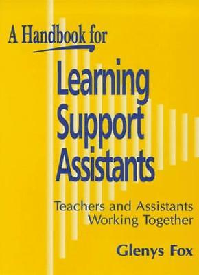 £1.97 • Buy Handbook For Learning Support Assistants: Teachers And Assistants Working Toge,