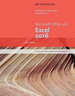 AU139.24 • Buy New Perspectives Microsoft Office 365 & Excel 2016: Intermediate By June Jamrich