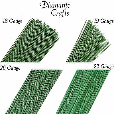 £3.09 • Buy 250g Stub Wire Green Florist Wires Floristry - Large Choice Of Length / Gauge