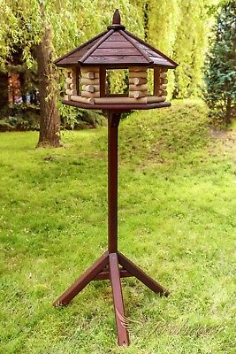 £154.99 • Buy Exclusive Large Wooden Bird Table House, Feeder & House
