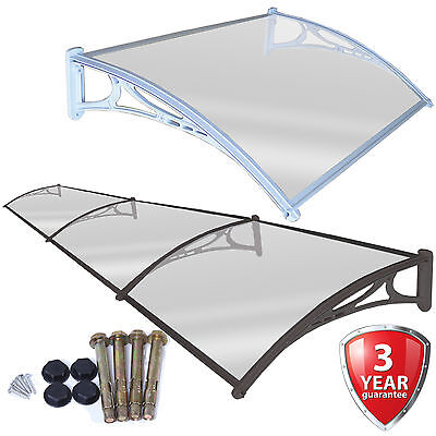 Door Canopy Roof Shelter Awning Shade Rain Cover Porch Front Back Outdoor Patio • 99.99£