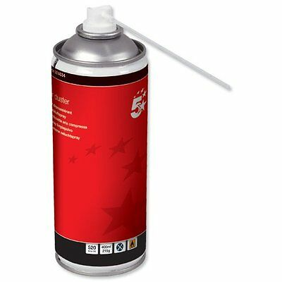 5 Star Compressed Air Duster Spray Can Computer Keyboard Dust Blower Cleaner • 9.99£