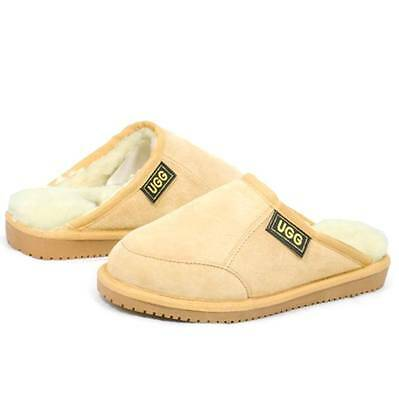AU65 • Buy Originals Ugg Australia Sheepskin Chestnut Scuffs Slipper 6 7 8 9 10 11 12 Mens