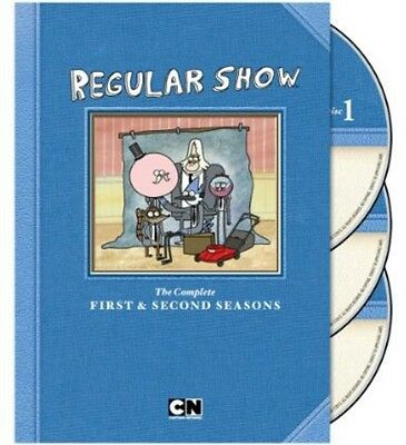 Regular Show: The Complete First & Second Seasons [3 Di (2013, REGION 1 DVD New) • 18.85£