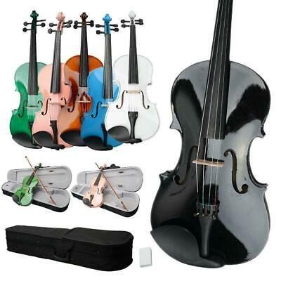 $37.96 • Buy Optional Student 15 16 Inch Acoustic Viola + Case + Bow + Rosin