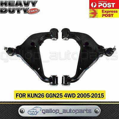 AU189 • Buy KUN26 Lower Control Arm Front Left & Right For TOYOTA HILUX GGN25 4WD 05-15 L &R