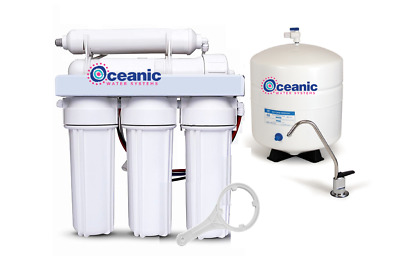 Residential Home Pure RO Reverse Osmosis Drinking Water Filter System 75 GPD • 94.02£