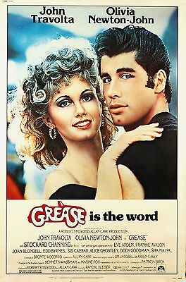 £3.99 • Buy Home Wall Art Print - Vintage Movie Film Poster - GREASE - A4,A3,A2,A1