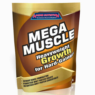 AU69.95 • Buy 5kg Mega Muscle Mass Gainer Protein Amino Nutrition / Weight Gain