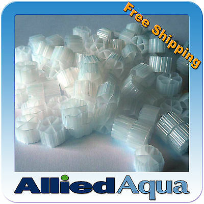 AU109.60 • Buy Moving Bed Bio Filter Media MBBR 2 Cubic Feet, More Surface Than Kaldnes K1
