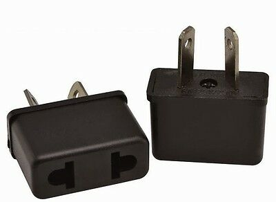 AU4.99 • Buy 2 Pcs Usa Us Eu Adapter Plug To Au Aus Australia Travel Power Plug Convertor