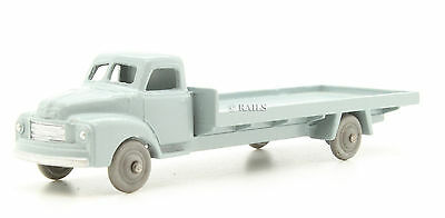 Dublo Dinky Toys Repainted 066 Grey Bedford Flat Truck (5h) • 29.50£