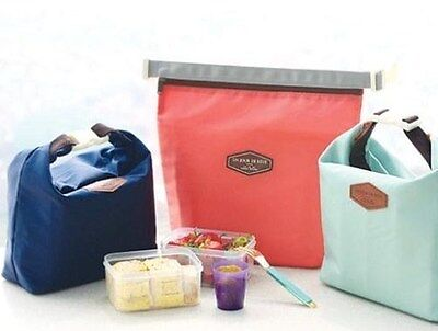 AU4.99 • Buy New Insulated Pouch Bag | Cool Bag | Cooler Lunch Box Bag – In 3 Colours