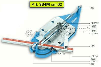 Spare Parts And Accessoires For Tile Cutter Sigma 3b4m (ex 3b3m) • 52.50£