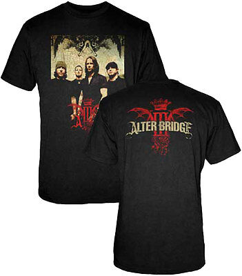 £14.16 • Buy Official Alter Bridge Band Photo Adult T-Shirt - American Rock Band Tee