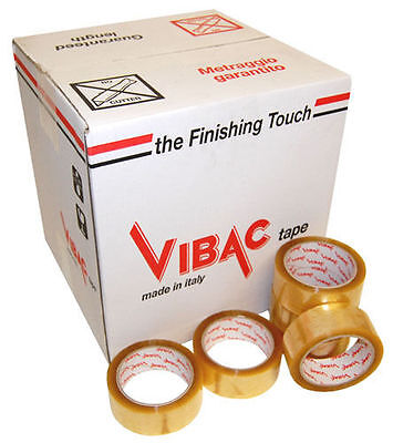 £15.99 • Buy Vibac 830 Clear Solvent Packing Packaging Tape, 48mm X 66m, Choose Quantity