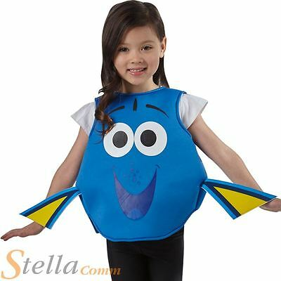 £13.98 • Buy Child Official Finding Dory Fish Disney Fancy Dress Costume Kids Outfit
