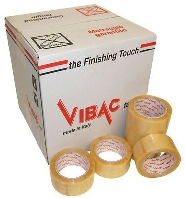 £24.49 • Buy Vibac Pvc 700 Clear/transparent Packing Packaging Tape 48mm X 66m, Choose Qty