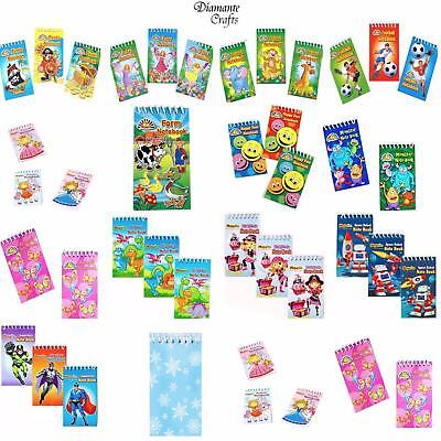£2.49 • Buy Notebooks - Childrens Character Kids Party Loot Bag Fillers Pick Design & Qty