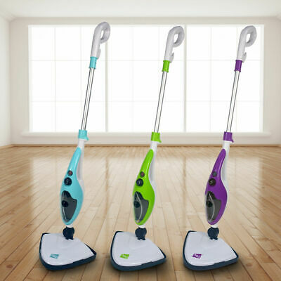 10 In 1 1500W Neo® Hot Steam Mop Cleaner Floor Carpet Window Washer Hand Steamer • 39.99£