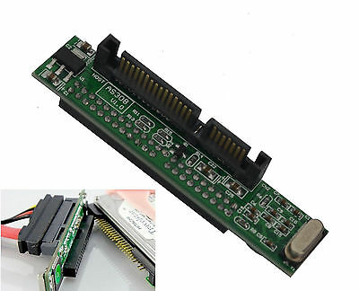 44 Pin 2.5'' IDE HDD SSD Laptop Hard Drive Female To 7+15 Pin Male SATA Adapter • 2.14£