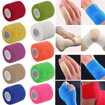Cohesive Sports Self-Adhesive Athletic Support Bandage Strap Tape 5cm X 4.5m • 1.89£