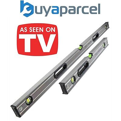 View Details Stanley 1200mm STA543648 And 600mm STA543624 Fatmax Box Beam Levels XMS18LEVEL2 • 38.99£