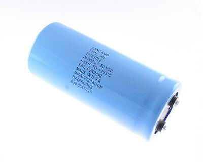 1x 27000uF 40V Large Can Electrolytic Capacitor 27000mfd 40VDC 27,000 uF