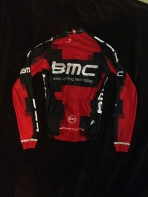 BMC Pro Cycling Mens L/s Thermal Hincapie Jersey Size Small • 74.99$