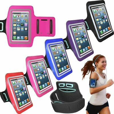 Arm Band Armband Strap For IPhone 5 5S 5C Sport Gym Cycle Jogging Running Pouch • 3.49£