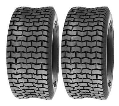 £38.92 • Buy (2) Two 15x6.00-6 Lawn Tractor Turf Tubeless Tires 15x6-6NHS