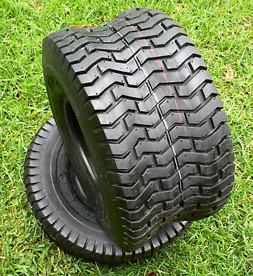 £70.74 • Buy (2) Two 20x10.00-8 Lawn Tractor Rear D265 Turf Tubeless Tires  20x10-8 NHS