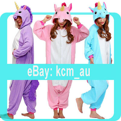 AU29.99 • Buy New Royal Unicorn Onsies Costume Kigurumi Fast Shipping From Sydney Australia