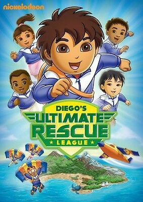 Go Diego Go!: Diego's Ultimate Rescue League (2010, REGION 1 DVD New) • 6.39£