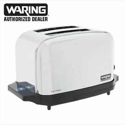 Waring WCT702 Commercial Light Duty 2 Slot Toaster 1 Year Warranty Blow Out • 69.99$
