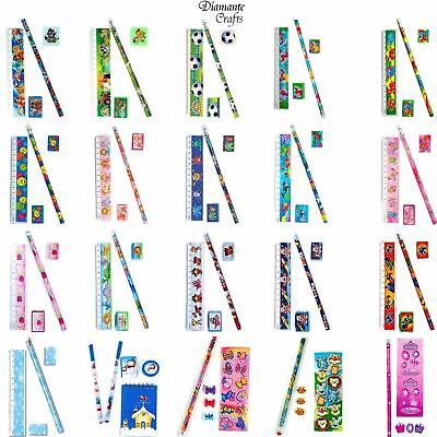 £1.99 • Buy Stationery Sets - Childrens Character Kids Party Loot Bag Fillers - 20 Designs