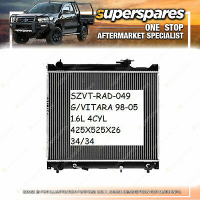 AU244.78 • Buy Radiator For Suzuki Grand Vitara SQ416 2.0L PETROL- G16B/J20A 1998 - 2005