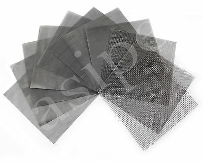 £2.99 • Buy Stainless Steel Woven Wire Mesh Filter Grading 15cm Sheet Silk To Heavy Gauze