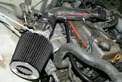 """3/"""" BLACK Short Ram Air Intake Filter For 2004-2008 Chevy Aveo Aveo5 1.6L 4-Cyl"""