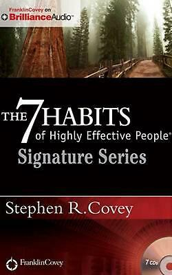 AU31.17 • Buy The 7 Habits Of Highly Effective People - Signature Series: Insights From Stephe