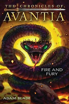 AU39.48 • Buy The Chronicles Of Avantia #4: Fire And Fury By Adam Blade (English) Hardcover Bo